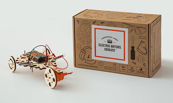 Win a Tinkering Labs Electric Motors Catalyst Set