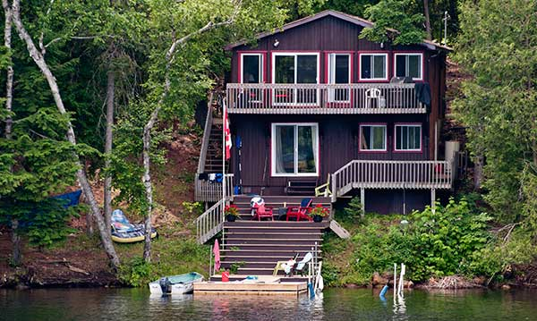 A Michigan vacation rental house