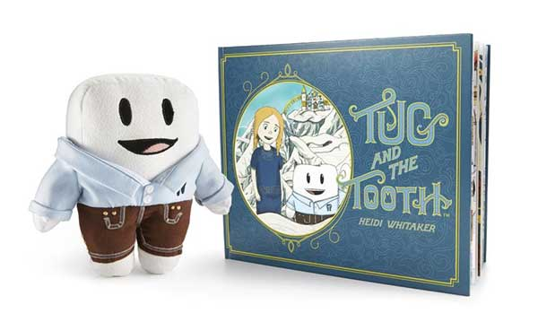 Win a 'Tug and the Tooth' Book and Plush Toy