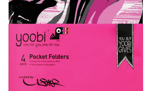 Win Yoobi x Usher School Supplies