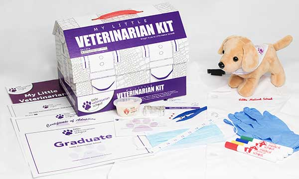 Win at Little Medical School Vet Kit