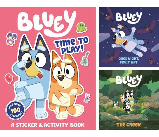 Bluey Books Contest