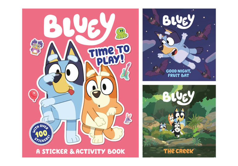 Win the Bluey Books Collection from Penguin Random House
