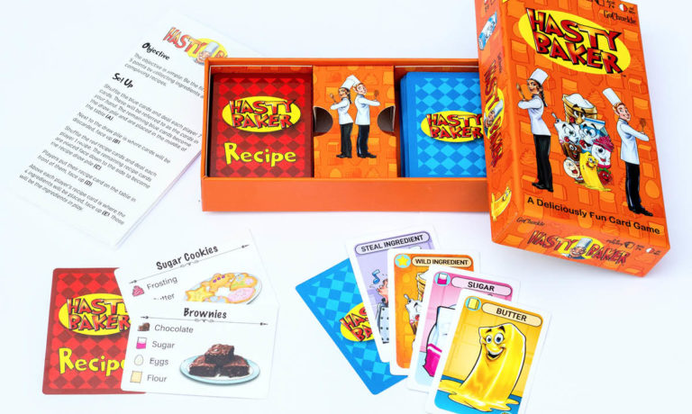 Win a Hasty Baker Card Game Set
