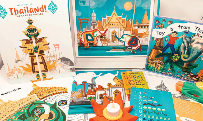 Win a Thailand Box from Little Global Citizens