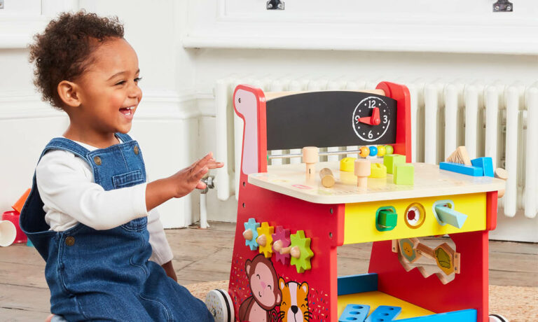 Win an Early Learning Centre Wooden Activity Workbench