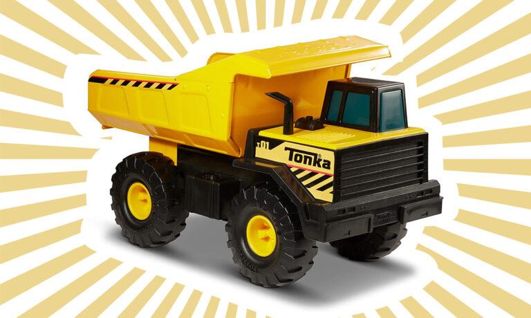 Win a Tonka Steel Classics Mighty Dump Truck